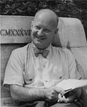 Portrait Paul Hindemith Tanglewood © Fondation Hindemith, Blonay