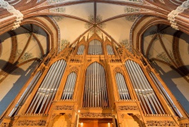 Historische Friese-Orgel © Oliver Borchert